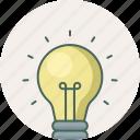 idea, bulb, creative, electric, innovation, light, lightbulb