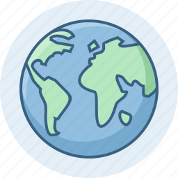 earth, globe, map, nation, planet, universe, world icon