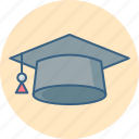 diploma, cap, degree, education, graduation, hat, student