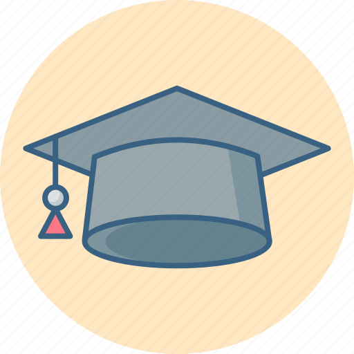 cap, degree, diploma, education, graduation, hat, student icon