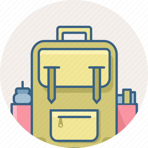 bag, book, education, knowledge, learning, school, study icon