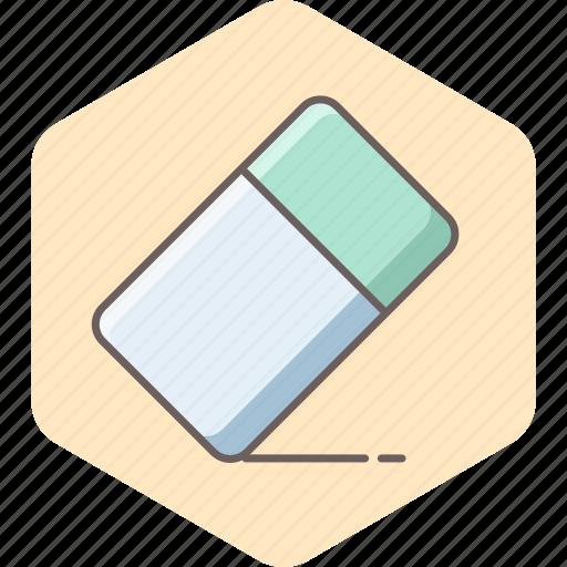 delete, erase, eraser, remove, rubber icon