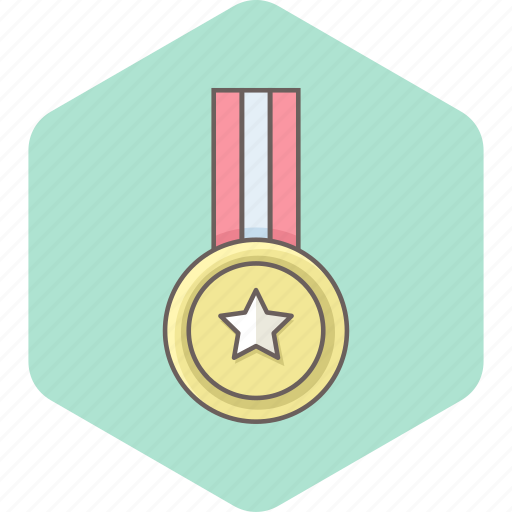 award, badge, label, military, ribbon, soldier, war icon