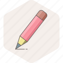 pencil, write, writing, draw, edit, note, text