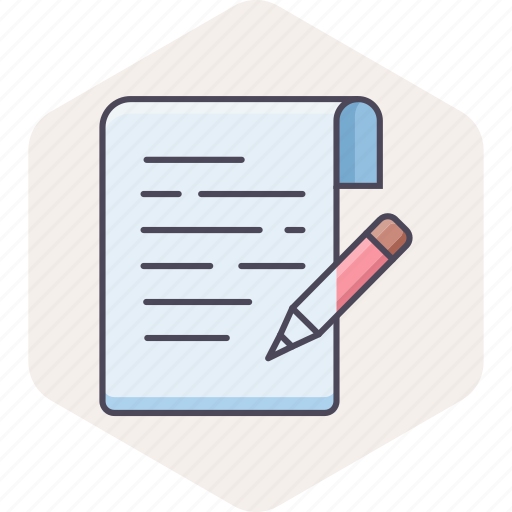 Note, notes, write, document, edit, pencil, text icon - Download on Iconfinder