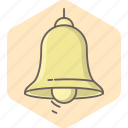alarm, alert, attention, bell, danger, ring, ringer icon
