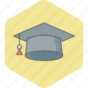 college, degree, diploma, education, graduate, graduation, university icon