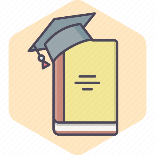 Book, graduate, college, education, learning, school, university icon - Download on Iconfinder