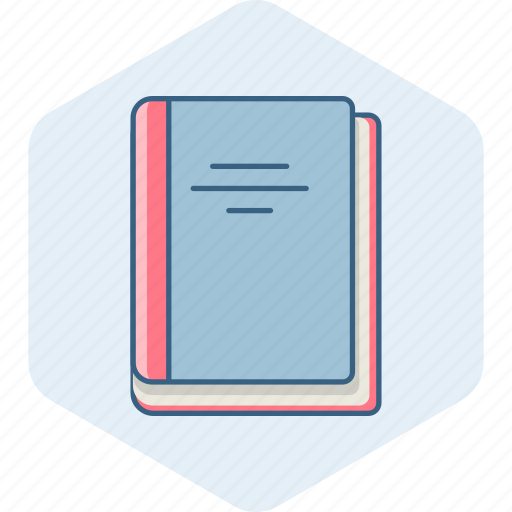 book, books, history, learning, library, notebook, study icon