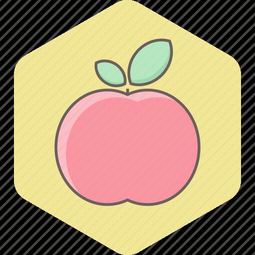 apple, breakfast, food, fresh, fruit, health, healthy icon