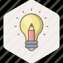 bulb, idea, creative, innovation, light, power