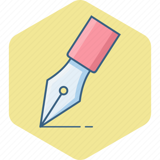 creative, design, edit, graphic, nib, pen, write icon