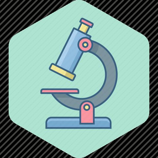 biology, laboratory, microscope, science icon