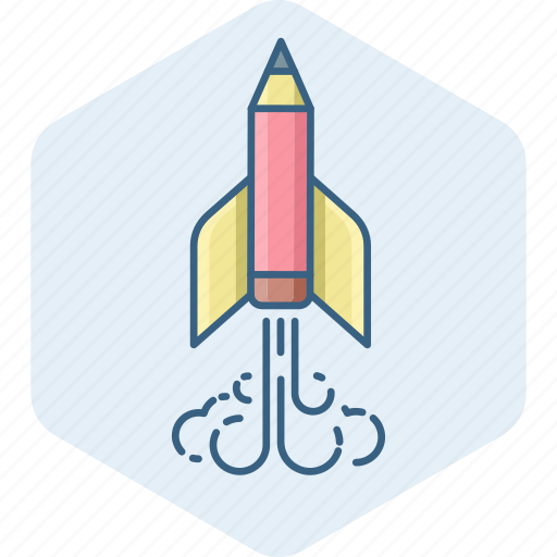 launch, misille, rocket, space, spacecarft, spaceship, startup icon