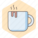 cafe, coffee, cup, drink, hot, mug, tea icon