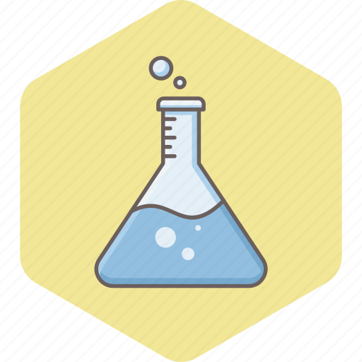 chemical, chemistry, experiment, flask, laboratory, research, science icon