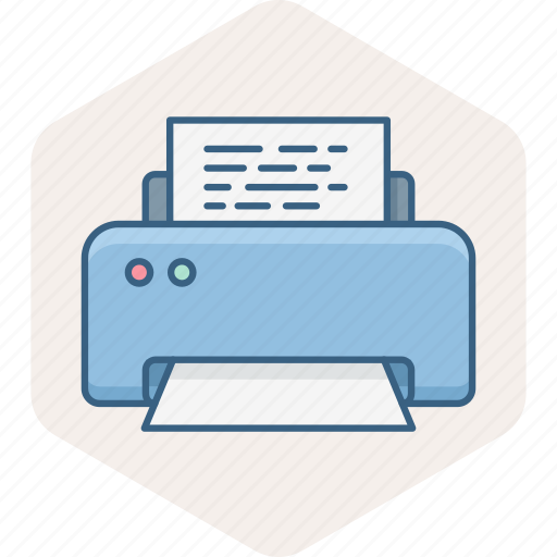 document, paper, print, printer, printing icon