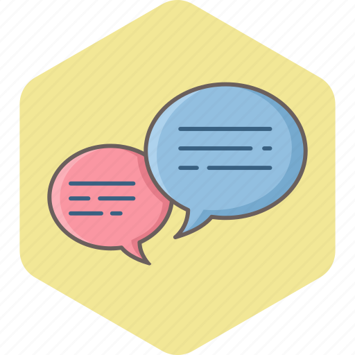 bubble, chat, comment, conversation, feedback, message, review icon