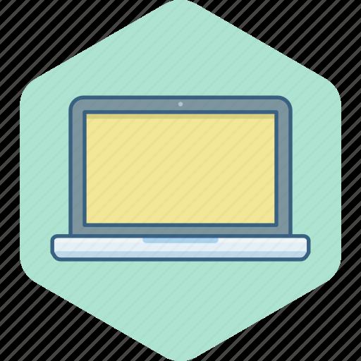 Laptop, hardware, pc, screen, computer, display icon