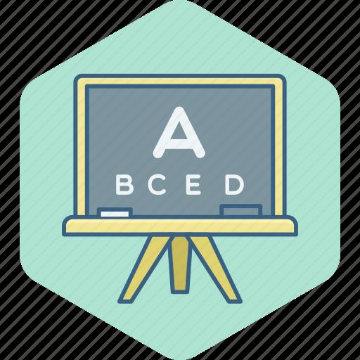 alphabet, alphabets, class, classroom, english, learning, school icon