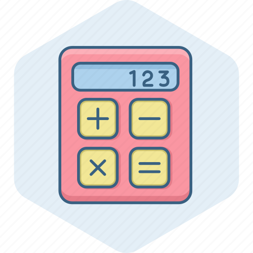 accounting, calc, calculate, calculating, calculation, calculator, digital icon