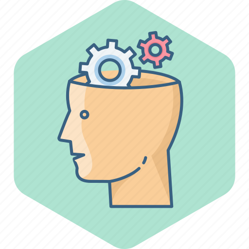 brain, control, gear, options, preferences, setting, settings icon