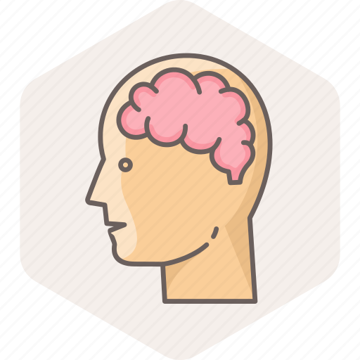 brain, human, man, mind, think, thought, user icon