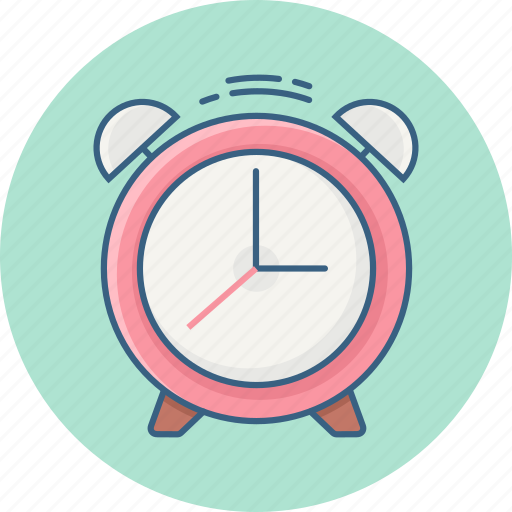 alarm, bell, clock, schedule, time, timer, wait icon