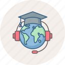 abroad, education, learning, online, school, smartclass, smartclasses icon