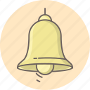alert, attention, bell, danger, message, notification, warning icon