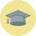 cap, diploma, education, graduate, graduation, learning, university icon