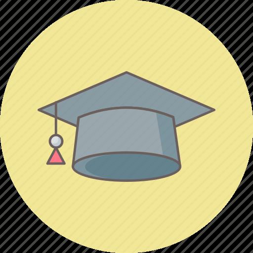 cap, diploma, education, graduate, graduation, learning, university icon