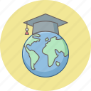 earth, education, global, globe, learning, school, world icon