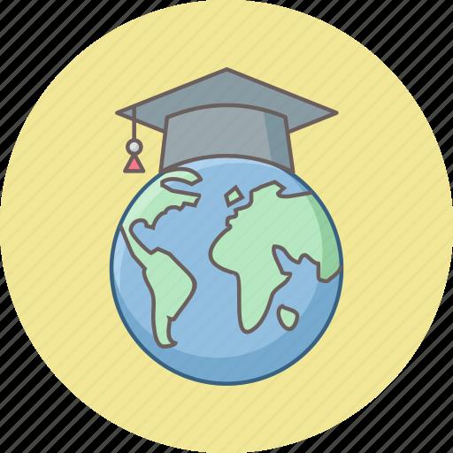 earth, education, global, globe, learning, school, world icon
