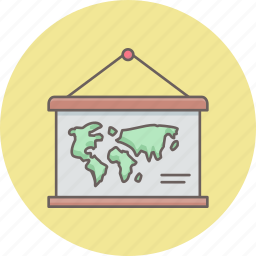 calendar, country, global, globe, gps, map icon