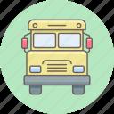 school, truck, van, shipping, transport, transportation