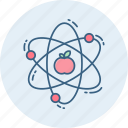 atom, chemistry, laboratory, molecule, physics, science icon