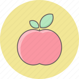 apple, care, fitness, fresh, fruit, health, healthy icon