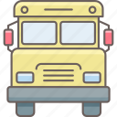 road, school, transport, transportation, truck, van, vehicle icon