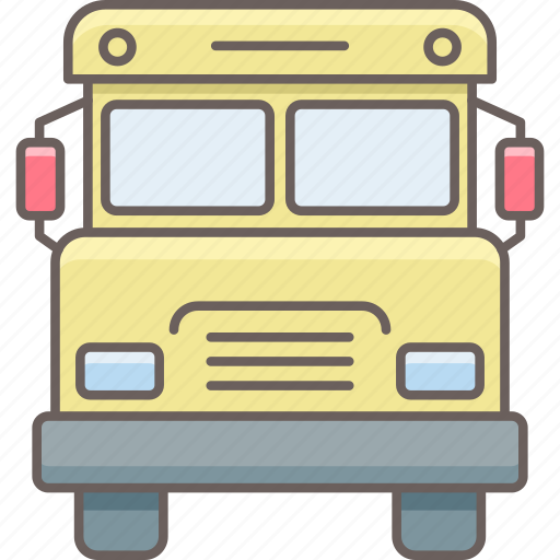 road, school, transport, transportation, truck, van, vehicle icon