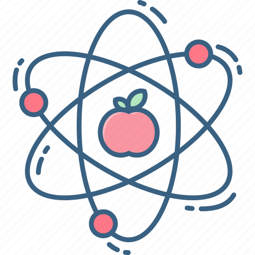 atom, chemistry, lab, laboratory, physics, research, science icon