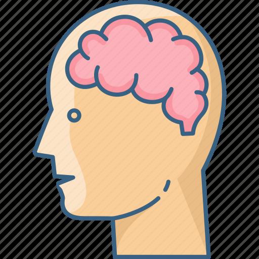 body, brain, human, man, people, user icon