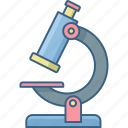 biology, chemistry, education, experiment, laboratory, research, science icon