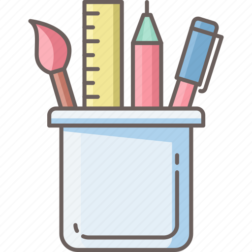 education, office, school, staionary, tool, tools, work icon