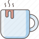 cup, hot, mug, beverage, coffee, drink, tea icon