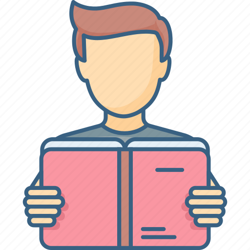 education, learning, library, reading, school, student, studying icon