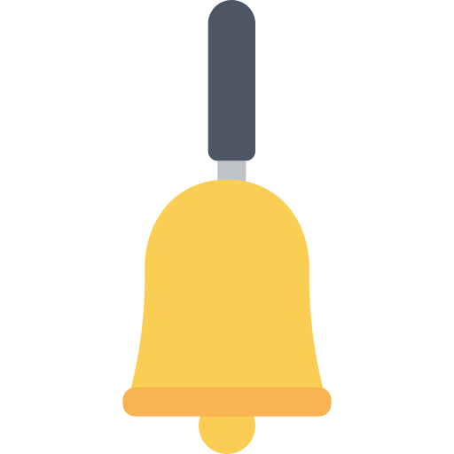 alram, bell, office, time icon