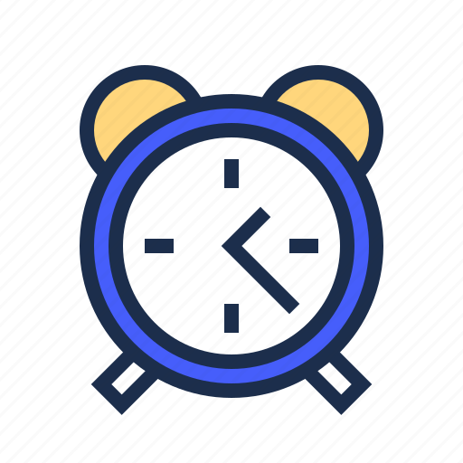 blue, clock, education, time icon