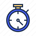 countdown, deadline, duration, speed, stopwatch, time, timer icon