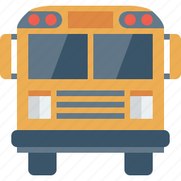 auto, autobus, bus, car, college, education, learn, learning, object, public, school, schoolbus, study, transport, transportation, truck, university, vehicle icon
